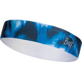 Buff Wide Bandeau, r-yule seaport blue